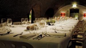 Fort Lent diner in binnenruimte